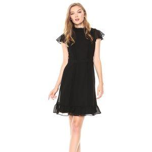 Adrianna Papell - Textured Chiffon Dress